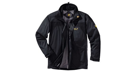 JACK WOLFSKIN Topaz Jacket Men shadow black
